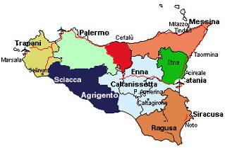 Distanze chilometriche Sicilia