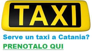 taxi catania numero